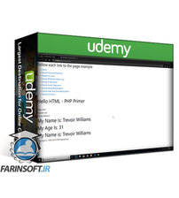 دانلود Udemy Basic PHP Development with Bootstrap, GitHub and Heroku