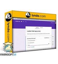 دانلود lynda Surveys and Questionnaires for UX Projects