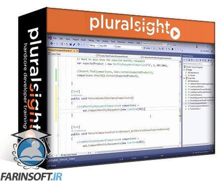 دانلود PluralSight Improving Unit Tests with Fluent Assertions