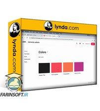 دانلود lynda Sketch and InVision Design System Manager: Website Design