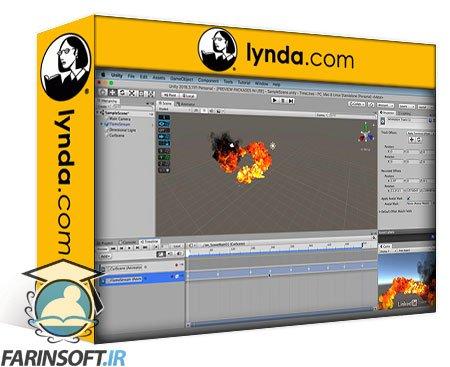 دانلود lynda Cert Prep: Unity Animation and Cinematics