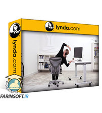 دانلود lynda Chair Work: Yoga Fitness and Stretching at Your Desk