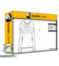 دانلود lynda Illustrator for Fashion Design: Creating Brushes