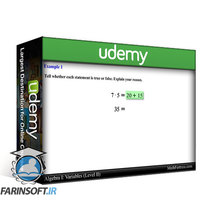 دانلود Udemy Algebra I (Beginning Algebra)