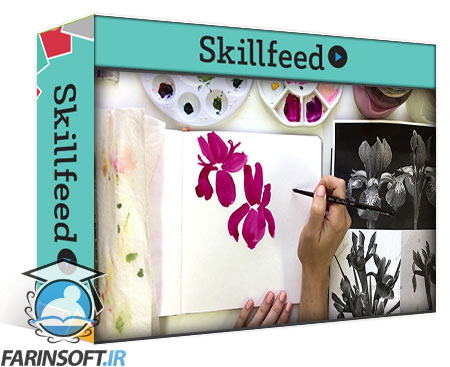 دانلود Skillshare Paint Expressive Florals: A 7 Day Watercolor Challenge