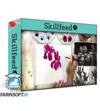 دانلود Skillshare Paint Expressive Florals: A 7 Day Watercolor Challenge
