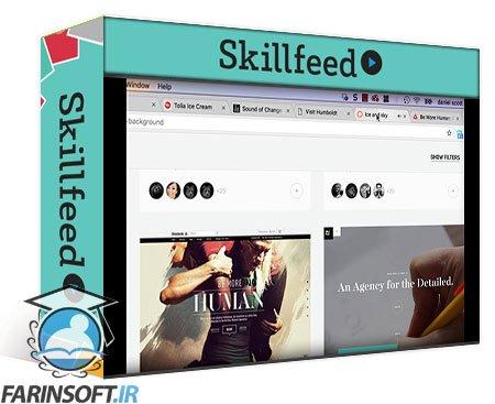 دانلود Skillshare Using Premiere Pro & Dreamweaver 2017 to make a website with a background video