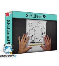 دانلود Skillshare Drawing Cartoons for Kids: Learn to Draw Water-Loving Animals Step-By-Step