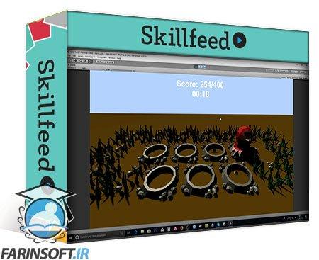 دانلود Skillshare Unity Game Tutorial: Whack A Mole 3D