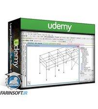 دانلود Udemy Civil Engineering-Structural Steel Design of Pipe Racks