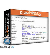 دانلود PluralSight Manipulating String Data in R
