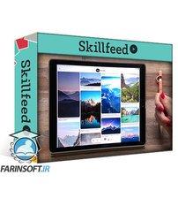 دانلود Skillshare Acrylic Landscapes on the iPad in Procreate