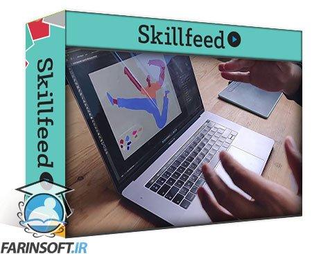 دانلود Skillshare Digital character illustration: Design a cool character