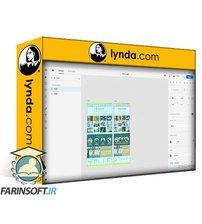دانلود lynda Adobe Photoshop to XD: Web Design Process