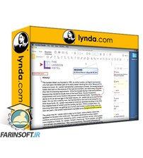 دانلود lynda Learning Acrobat Reader DC