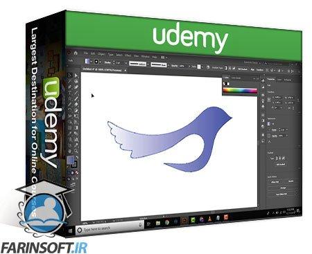 دانلود Udemy Logo Design in 2020 from Sketch to Vector in Illustrator