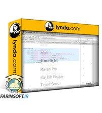 دانلود lynda Typography for Web Designers