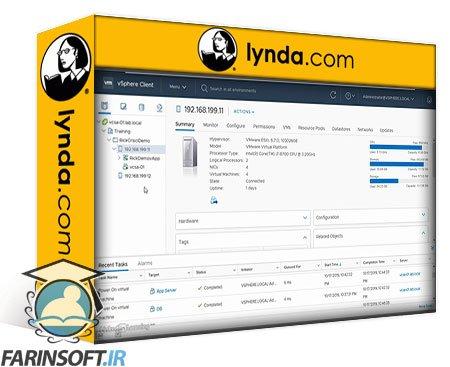 دانلود lynda vSphere 6.7 Foundations: Deploy and Administer VMs and Apps