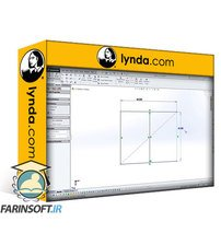 دانلود lynda SOLIDWORKS: Weldments