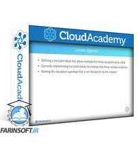 دانلود Cloud Academy Exception Handling