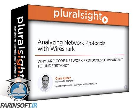 دانلود PluralSight Analyzing Network Protocols with Wireshark