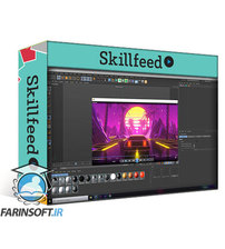 دانلود Skillshare Create A Retro Delorean Loop in Cinema 4D and After Effects