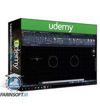 دانلود Udemy Complete course in AutoCAD 2020 : 2D and 3D