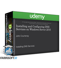 دانلود Udemy Installing & Configuring a DNS Server on Windows Server 2016