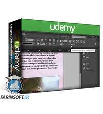 دانلود Udemy Learn Adobe InDesign: Design a Magazine and More in InDesign