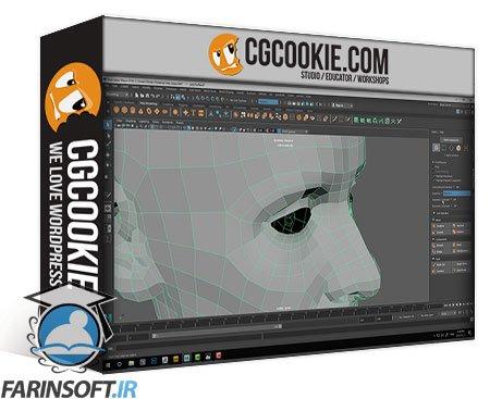 دانلود CG Cookie Character Facial Sculpting