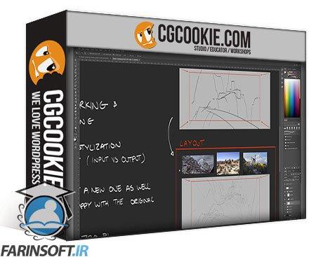 دانلود CG Cookie Fundamentals of Environment Design with Kalen Chock