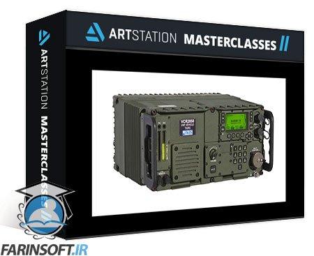 دانلود ArtStation Creating a Military Radio in Substance Designer