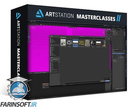 دانلود ArtStation Rocky Landscapes in Blender