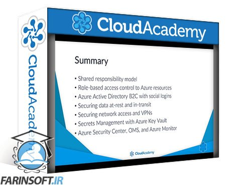 دانلود Cloud Academy Microsoft Azure Security Solutions
