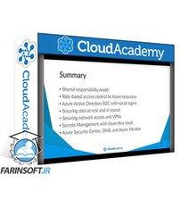 دانلود Cloud Academy Microsoft Azure Security Solutions