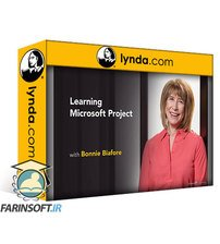 دانلود lynda Learning Microsoft Project