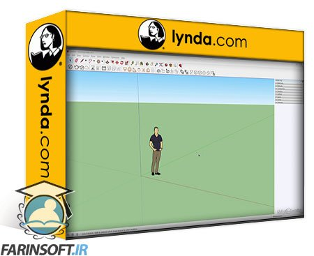 دانلود lynda SketchUp: Rendering with V-Ray Next