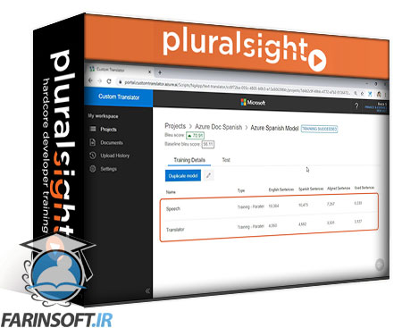 دانلود PluralSight Building Customized Translation Systems with Azure Cognitive Services Translator Text