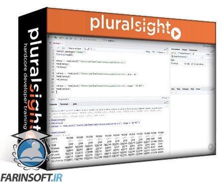 دانلود PluralSight Importing Common Data File Formats: R Playbook