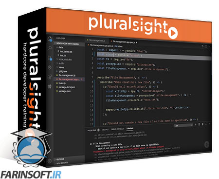 دانلود PluralSight Mocking Node.js with Sinon