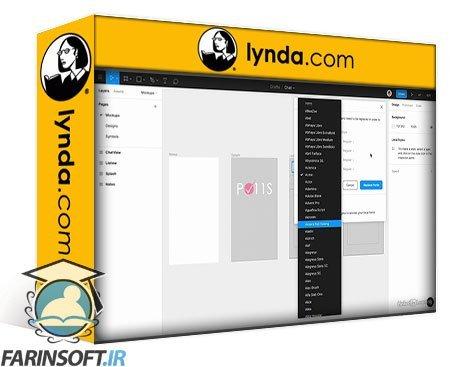 دانلود lynda Figma: Working with Clients