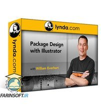 دانلود lynda Illustrator: Package Design