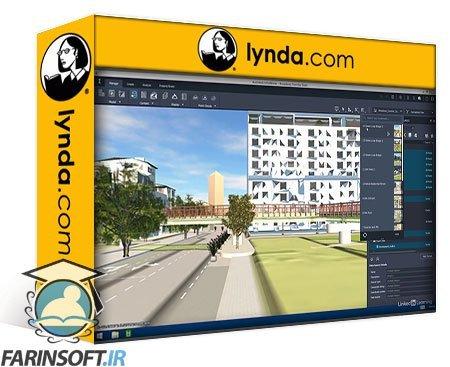 دانلود lynda InfraWorks and ArcGIS: AEC Collaboration