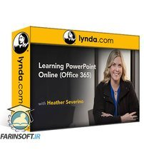 دانلود lynda Learning PowerPoint Online (Office 365)