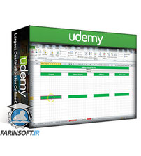 دانلود Udemy Excellence in Excel! Create a dynamic block chart in Excel!