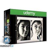 دانلود Udemy Head Drawing + Portrait Drawing 101