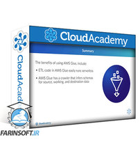 دانلود Cloud Academy Developing Serverless ETL with AWS Glue