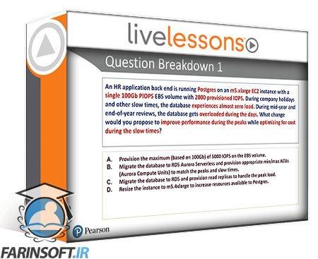 دانلود LiveLessons Pearson IT AWS Certified Solutions Architect Associate SAA-C02