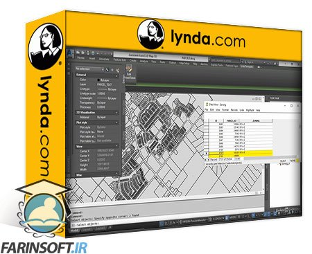 دانلود lynda AutoCAD Map 3D 2021 Essential Training