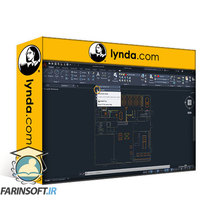 دانلود lynda Learning AutoCAD (2019)